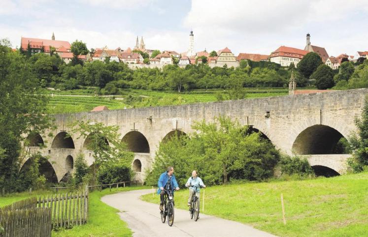 Ein Paradies für Radfahrer