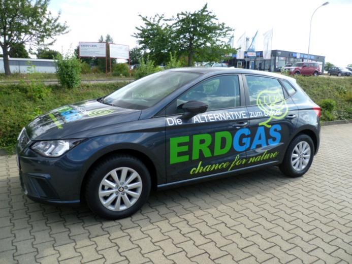 Erdgas-Pkw mit bester Treibhausgas-Bilanz