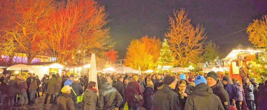 Traditionsreicher Weihnachtsmarkt in Krombach