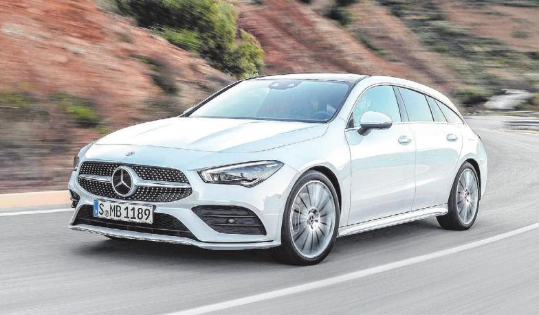 Der neue Mercedes-Benz CLA Shooting Brake