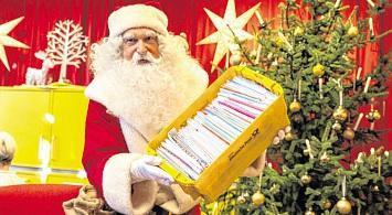 Weihnachtsmann im Dienst
