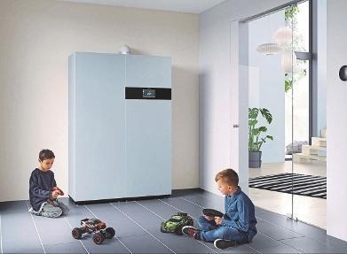 Effiziente Energiezentrale fürs Eigenheim