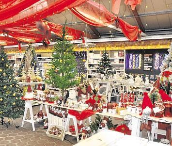 OBI-Weihnachtsmarkt in Wittenberge mit OBI-Sonntags-Rabatt und Christbaum-Verkauf