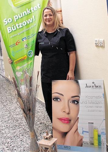 """Kosmetikstudio """"Hautnah"""" in Bützow: Punkten für das Wohlbefinden"""