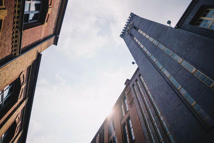 Eine Stadt im Aufbruch
