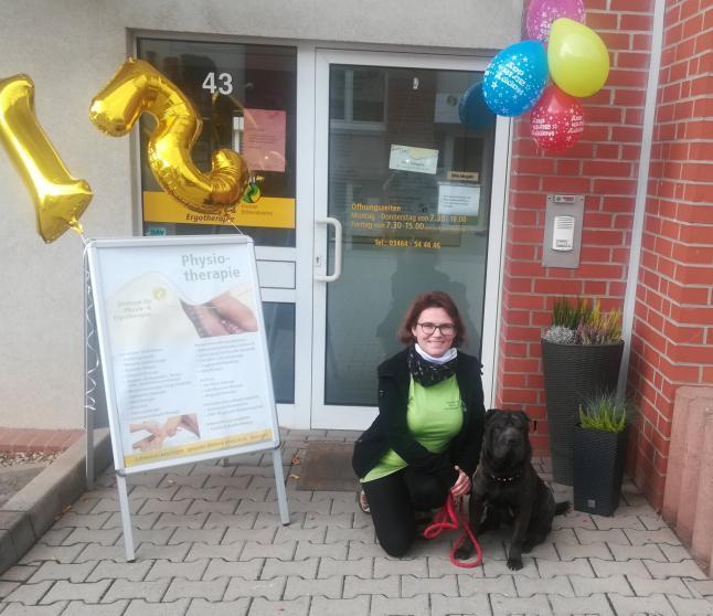 Tiergestützte Therapie mit Hunden: Ergotherapie in Sangerhausen