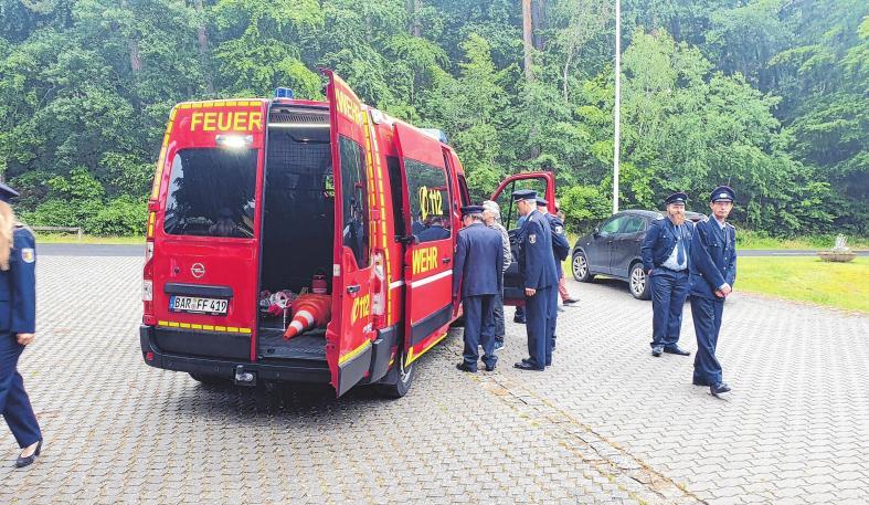 Neuer Transporter für die Feuerwehr