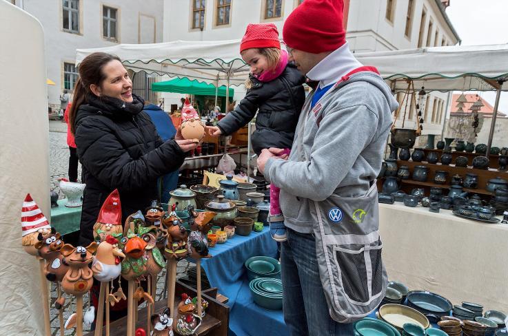 Feen und Zauberer bevölkern die Stadt Merseburg