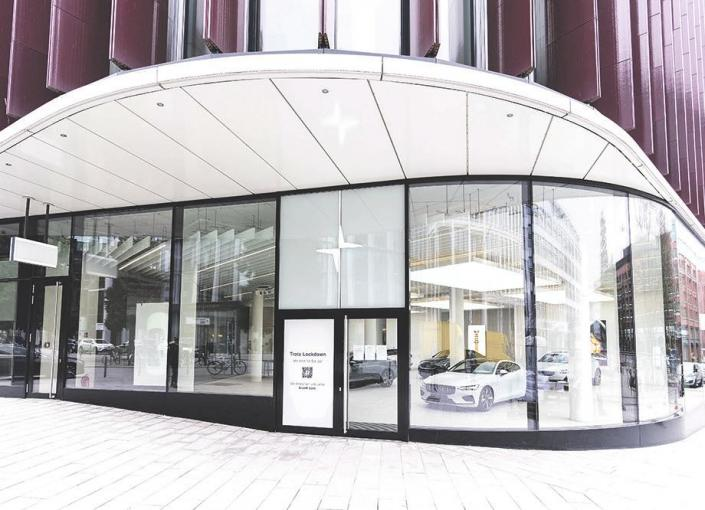 "Neuer ""Polestar Space"" in Hamburgs City"