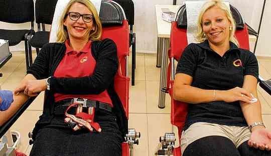 Rekordverdächtige Blutspende-Aktion