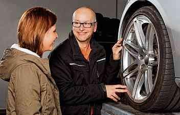 Räder-Check beim Reifenwechsel lohnt sich