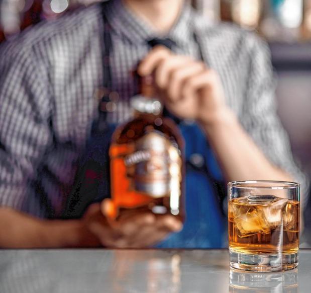 Nachtrunk nach einer Alkoholfahrt