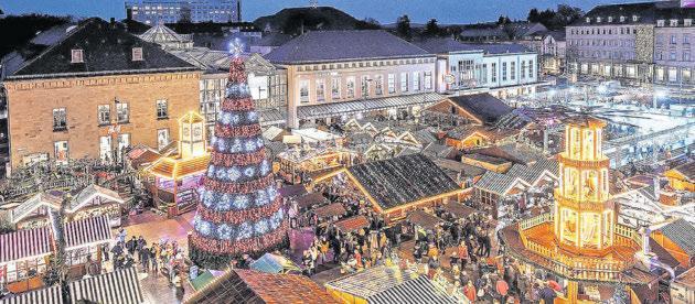Weihnachtsmarkt Saarlouis 2021