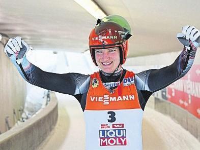 Schnell und erfolgreich - Tatjana Hüfner feiert eiskalte Siege