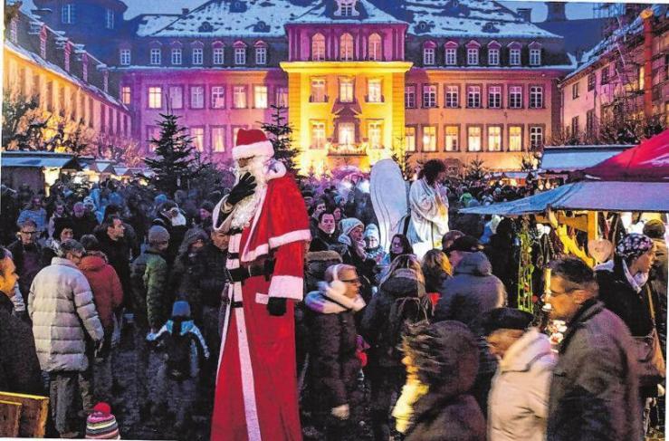 Programm der Weihnachts-Zeitreise Bad Berleburg