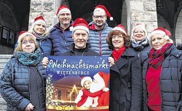 Erstes Wittenberger Weihnachtssingen auf dem Wittenberger Weihnachtsmarkt