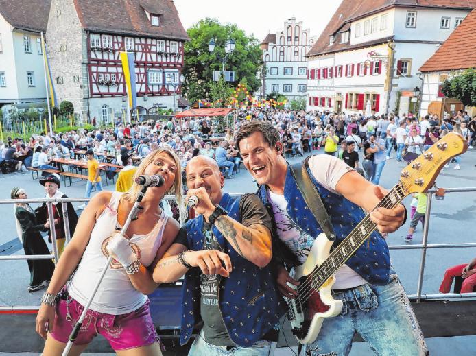 Bayernmän, ein DJ und die Vellberger