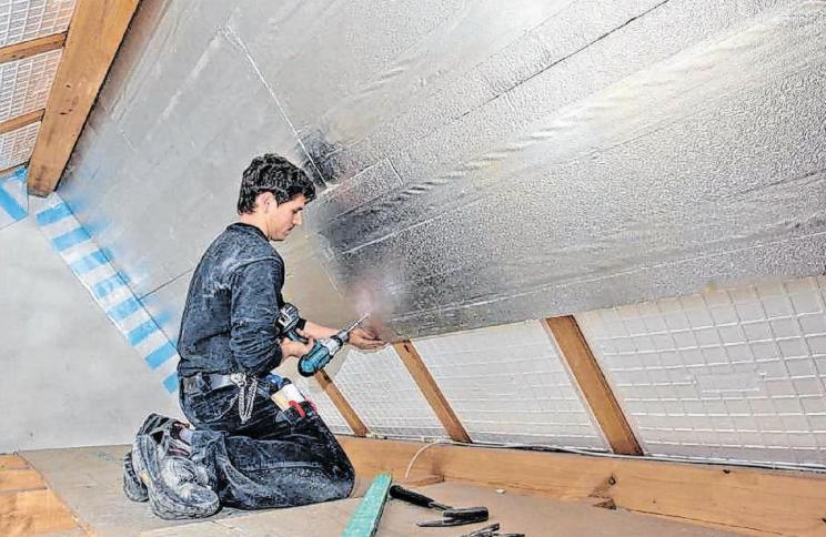 Sparen mit der Dachdämmung
