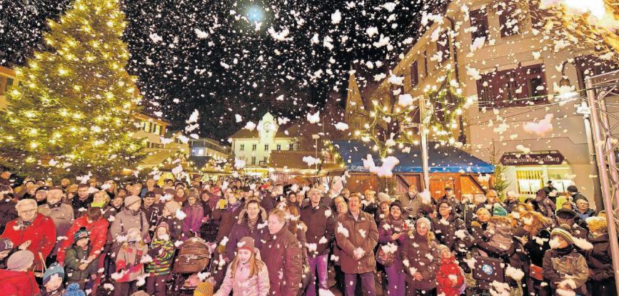 Grandioses Programm beim Weihnachtsmarkt