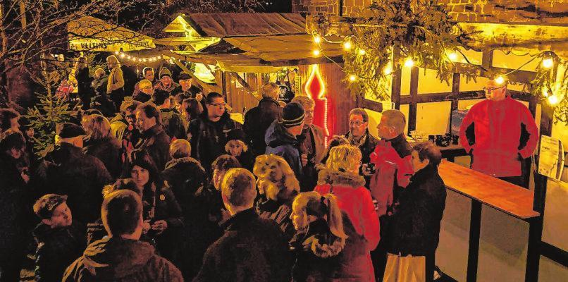 Gemütlicher Weihnachtsmarkt in Erndtebrück
