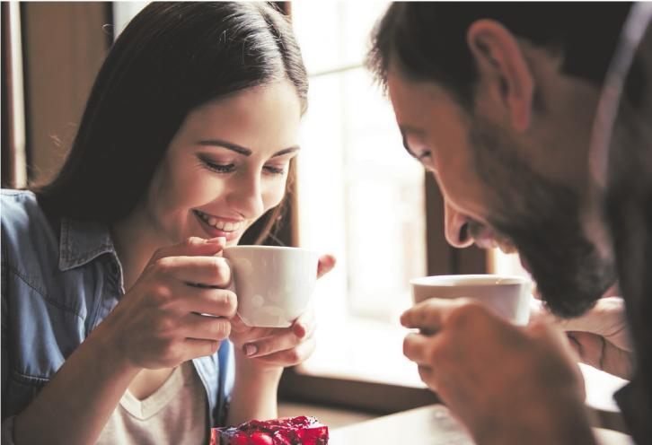 Heiß und aufregend: Mit Kaffee geht was