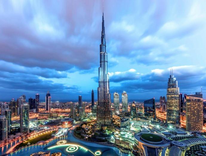 Delegierte unterstützen die Dubai Eyesight Charity