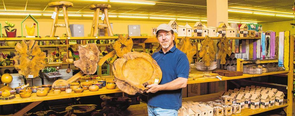 Aus Keramik-Scheune wurde DekoOutlet in Bad Saarow