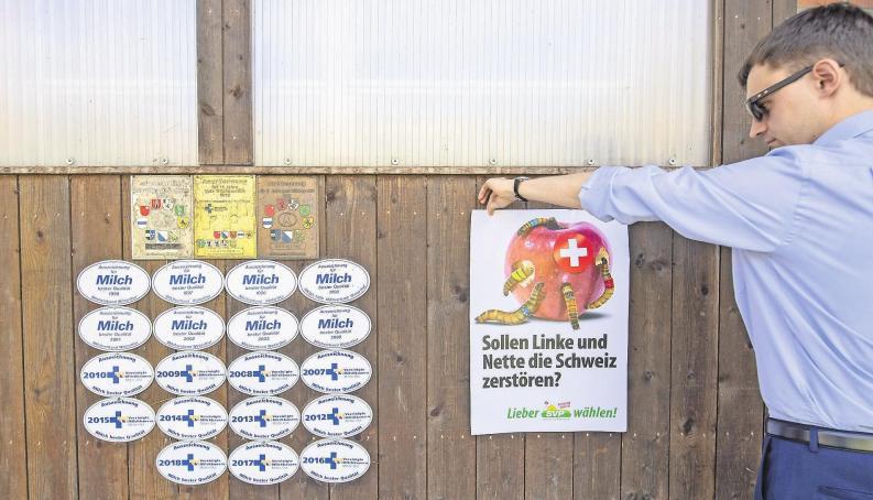 SVP zittert, BDP kämpft, Linke hofft