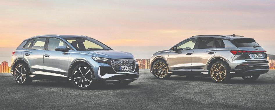 Weltpremiere für Audi Q4 e-tron