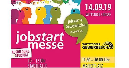 Jobstart-Messe in Wittstock