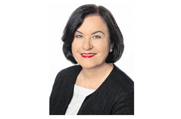 Jutta Grabs von der Sparkasse Mecklenburg-Schwerin zur Ausbildung