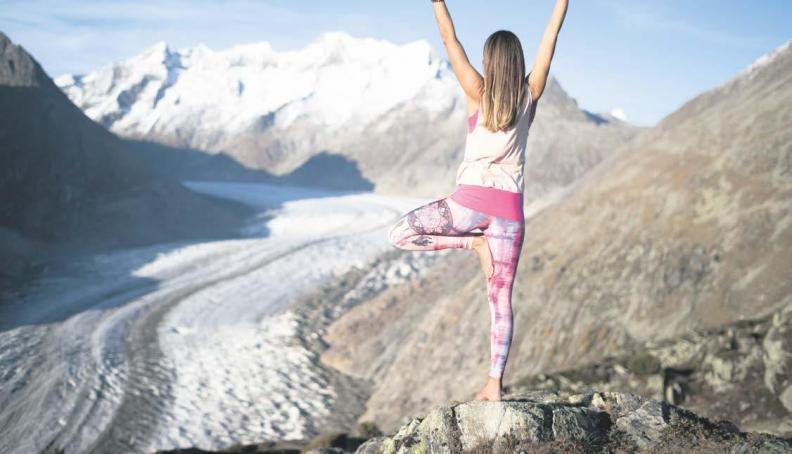 Sinneserlebnisse am grössten Gletscher der Alpen