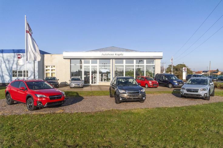 Die gute Adresse für Fiat- und Subaru-Kunden