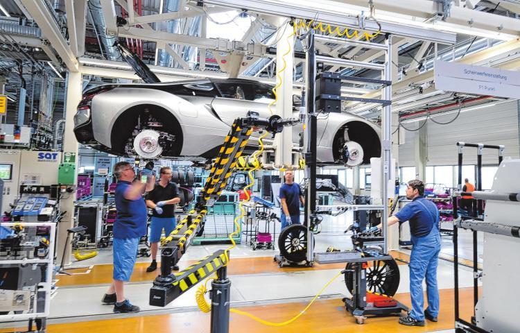 Autoindustrie im Wandel