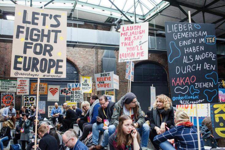 Europa leben, eigene Filterblase verlassen