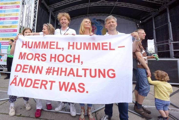 """""""Hamburg musste eine Menge aushalten"""""""