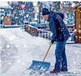 Gefahr durch Eis & Schnee