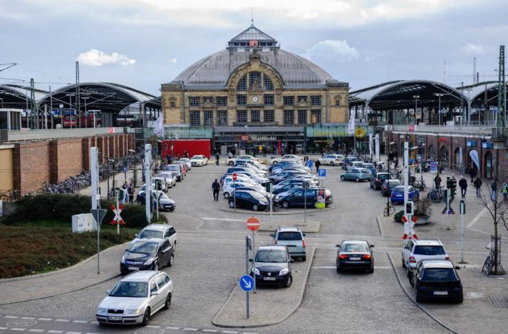 Hauptbahnhof feiert ein Fest