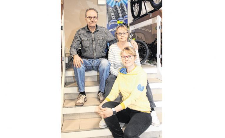 Fahrradfachhandel Schukat in Wittenberge: Geschäftsführerin Stefanie Helbig
