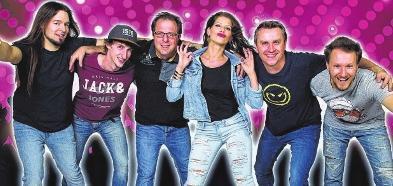 Partyband aus Oberfranken spielt in Annaburg