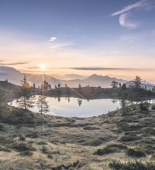 Die magische Landschaft eines abgelegenen Tals