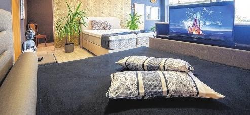 Jedes Bett wird individuell gefertigt