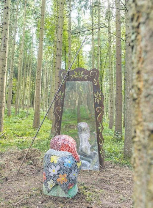 Sagenhafte Geschichten im Wald