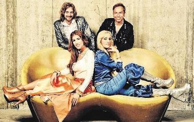 "Ein Tribut an die Band ""Abba"": ""Swede Sensation"""