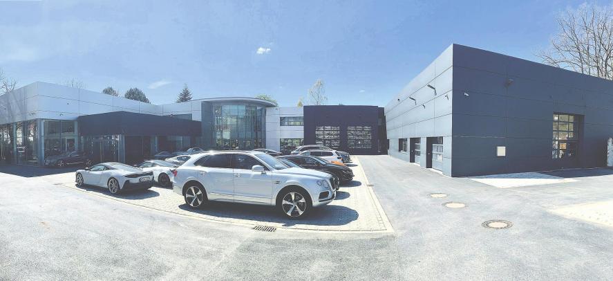 Bentley Hamburg mit neuem Standort
