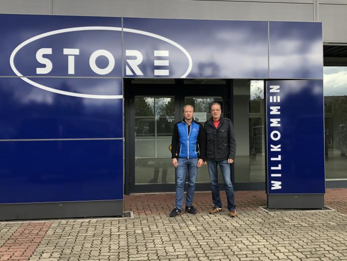 Mit dem neuen Store des Sangerhausener Autohauses Einicke bereit für die Zukunft