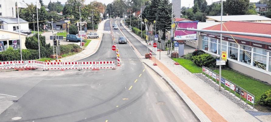 Auf dem ersten Bauabschnitt der Rogahner Straße können die Räder wieder rollen