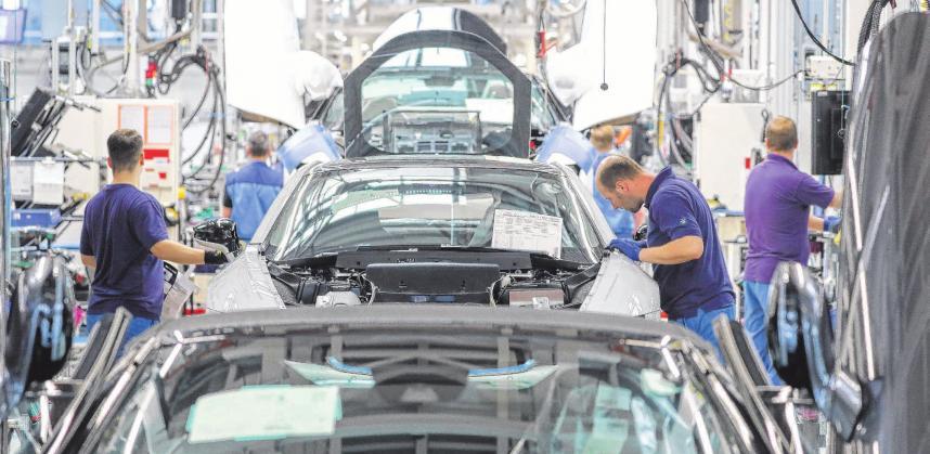 Riskante Wette auf die Auto-Zukunft