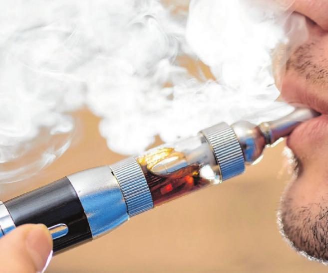 E-Zigaretten, Umwelt und Lunge