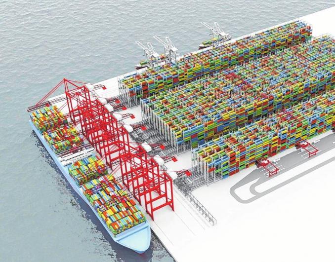 Im Hafen der Zukunft angelegt